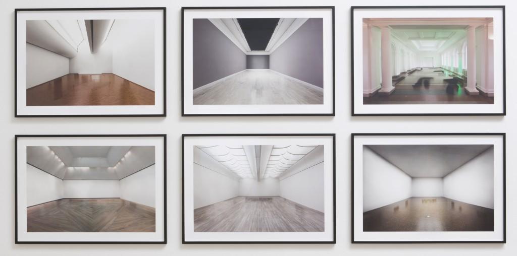 Jesper Rasmussen, White Cupe Installation, 2014